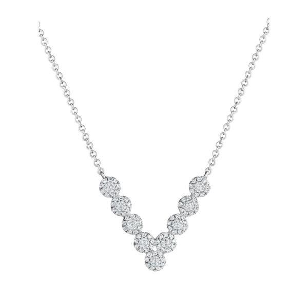 Diamond jewelry pendants crown of light crown de soleil v pendant aloadofball Image collections